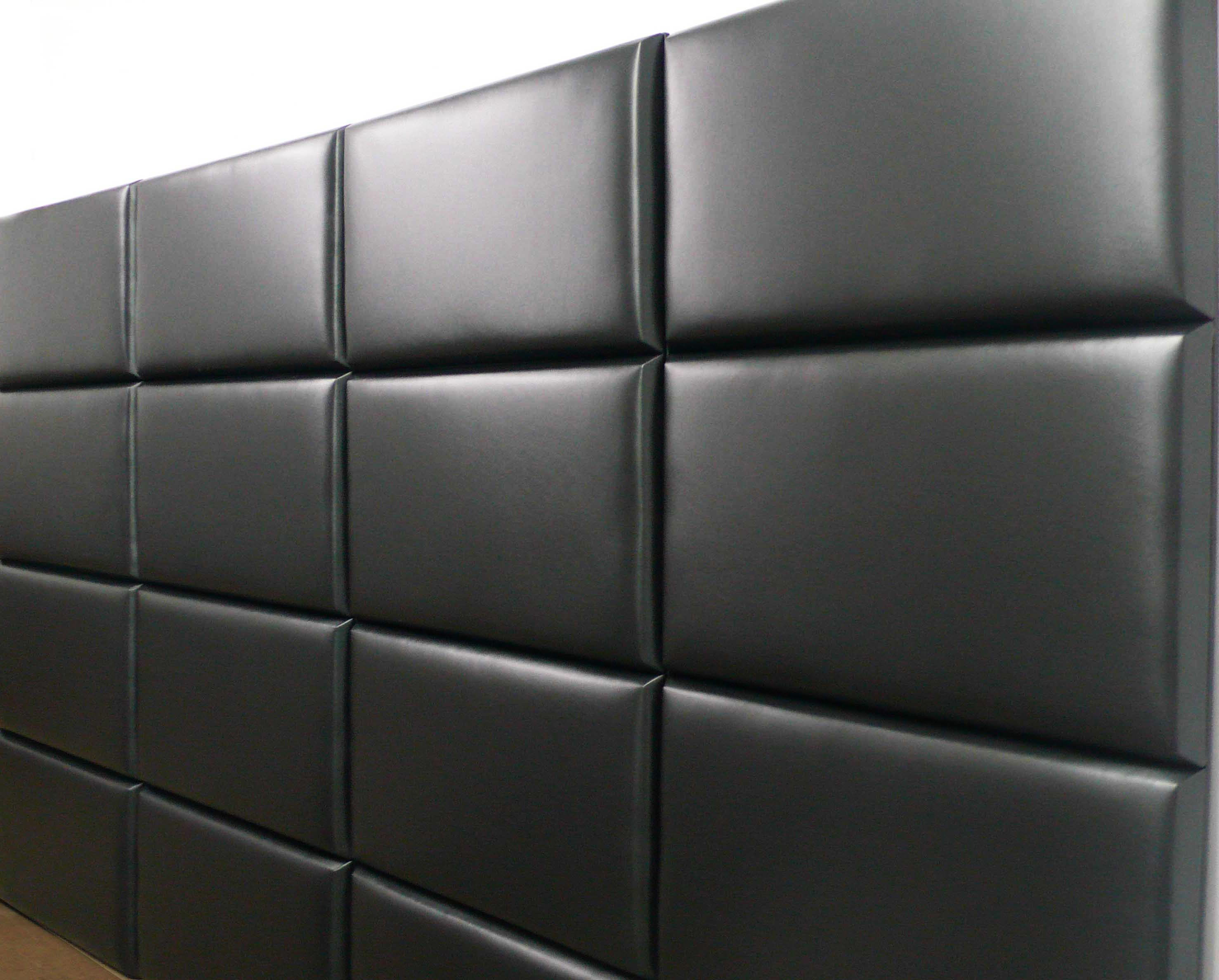 Dentro Home | Tiled Leather Wall Panel