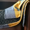 Chinchilla Throw lined with Hermes Silk Shawl