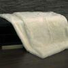 Natural White Imperial Chinchilla Rex Fur Blanket
