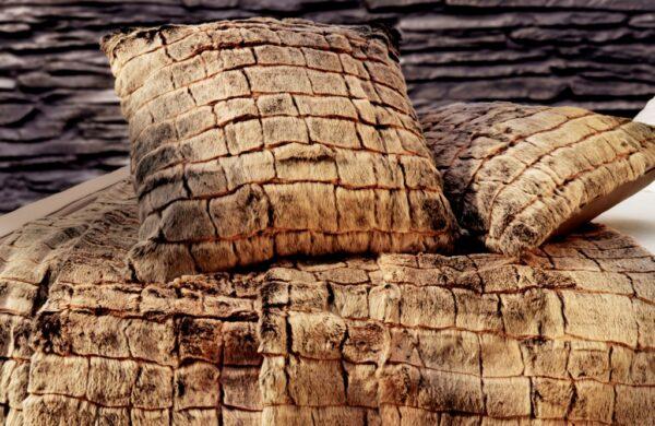 Rabbit cushion Imperial Stone